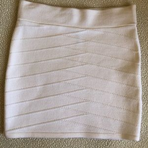 Dresses & Skirts - Women's White Mini Skirt